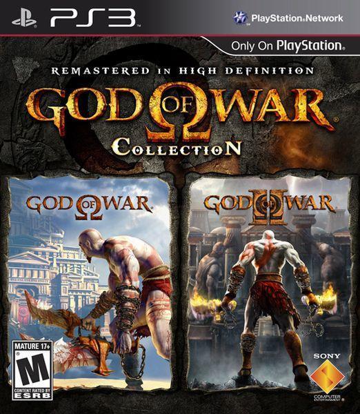 GOD OF WAR COLLECTION (HASZNÁLT)