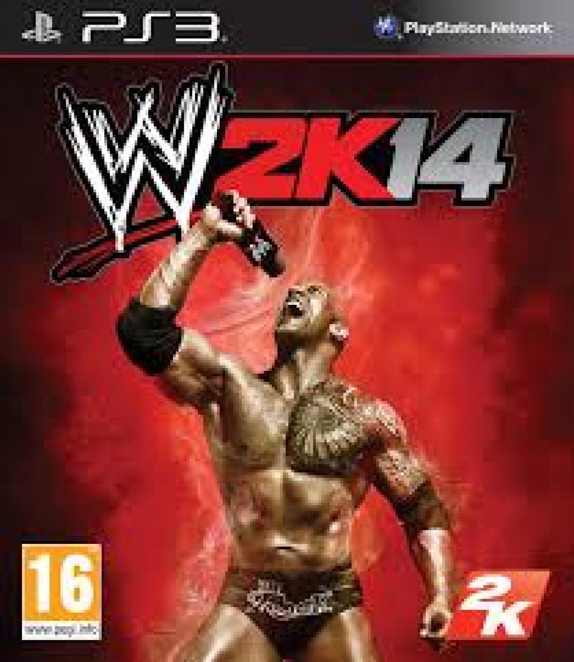 WWE 2K14 (HASZNÁLT)