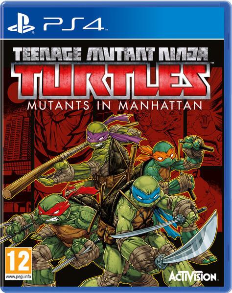 TEENAGE MUTANT NINJA TURTLES MUTANTS IN MANHATTAN (HASZNÁLT)