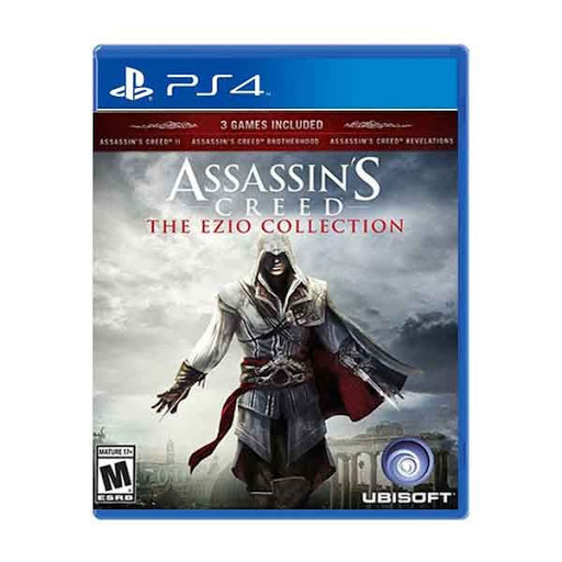 ASSASSIN'S CREED THE EZIO COLLECTION (használt)