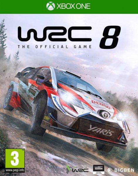 WRC 8 THE OFFICIAL GAME (HASZNÁLT)