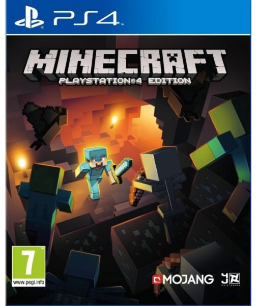 MINECRAFT-PS4-EDITION-HASZNALT