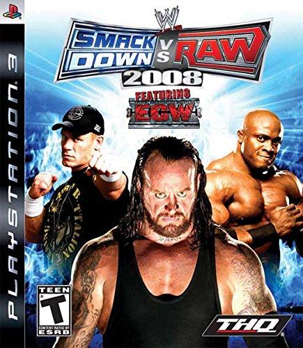 SMACK DOWN VS. RAW 2008 (HASZNÁLT)