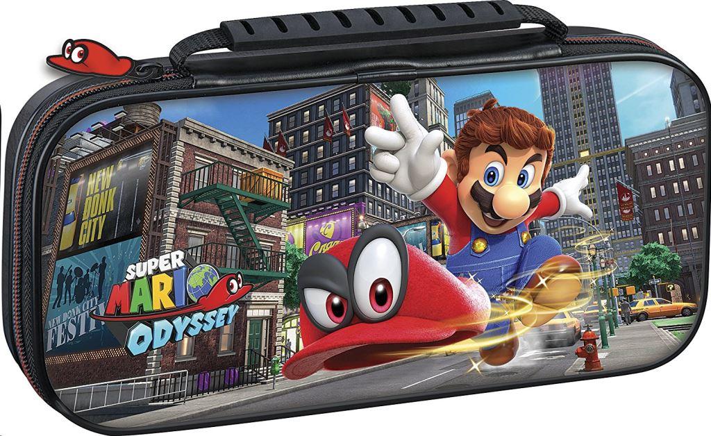 Nintendo switch super mario odyssey hordtáska (használt)