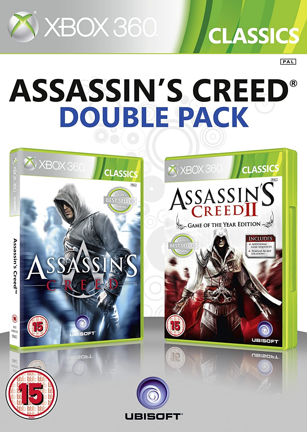 ASSASSIN'S CREED DOUBLE PACK (használt)