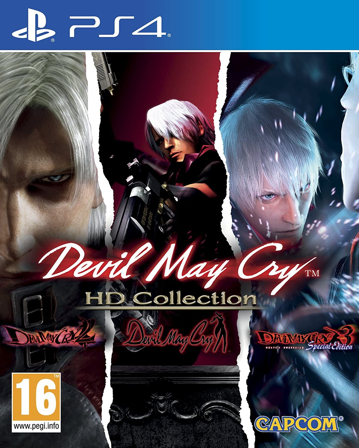 DEVIL MAY CRY HD COLLECTION (HASZNÁLT)