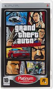 GRAND THEFT AUTO (GTA) LIBERTY CITY STORIES (PSP, HASZNÁLT)