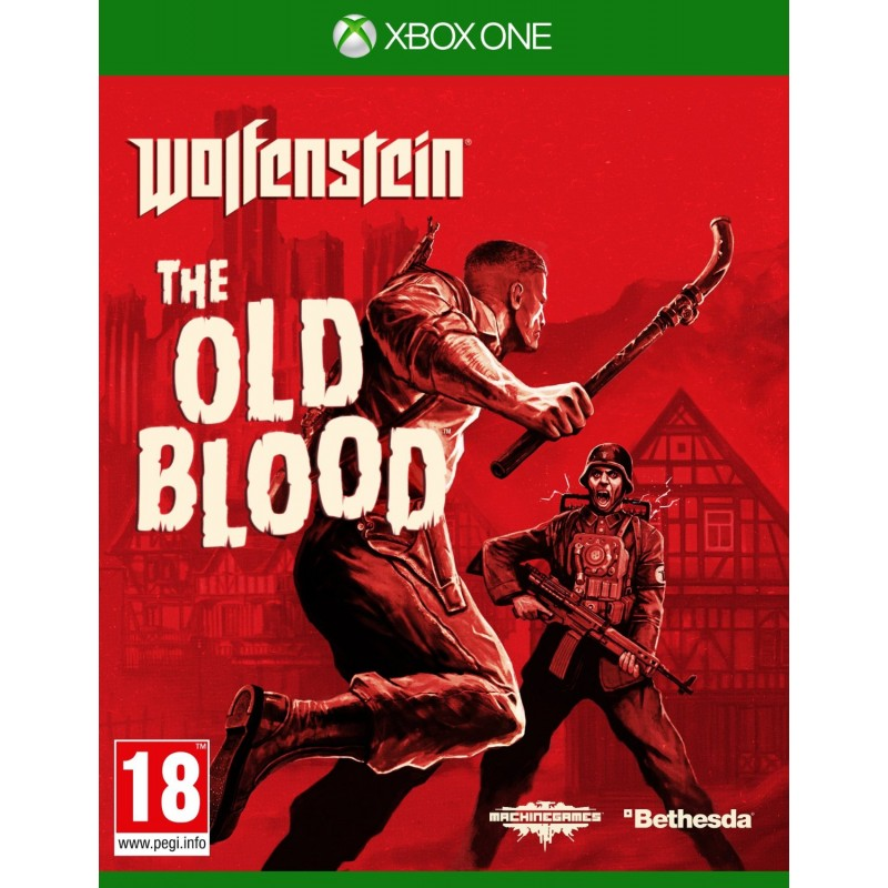 WOLFENSTEIN THE OLD BLOOD (HASZNÁLT)