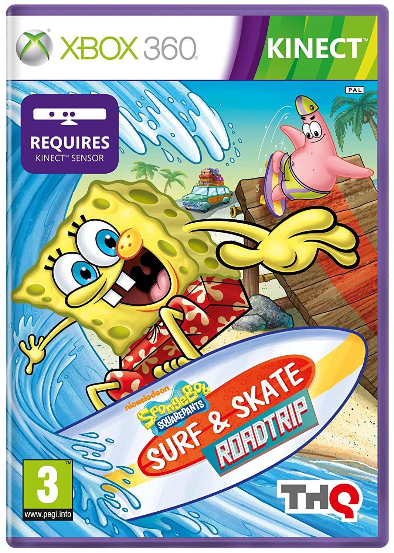 KINECT SPONGEBOB'S SURF & SKATE ROADTRIP (HASZNÁLT)