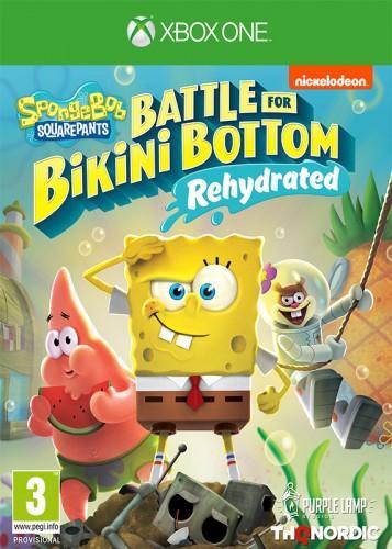SpongeBob-Squarepants-Battle-for-Bikini-Bottom--Rehydrated-HASZNALT
