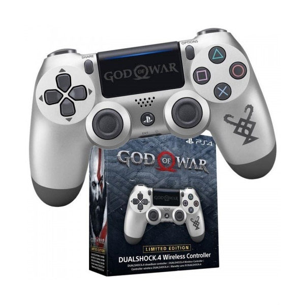 SONY PLAYSTATION 4 (PS4) DUALSHOCK 4 V2 CONTROLLER god of war limited edition (használt)