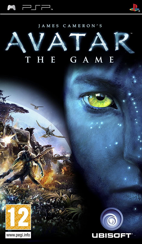avatar the game (psp, használt)