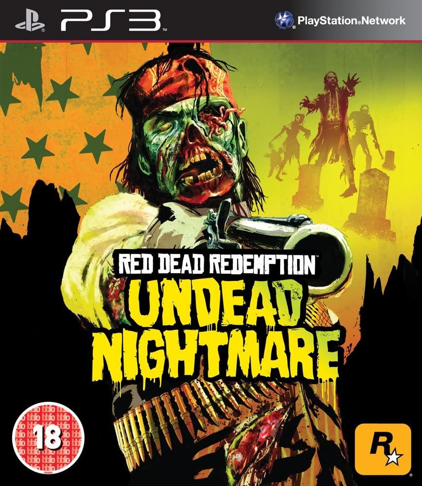 RED DEAD REDEMPTION UNDEAD NIGHTMARE (HASZNÁLT)
