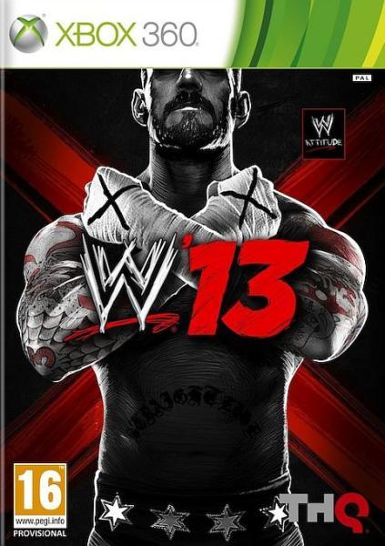 WWE 13 (HASZNÁLT)