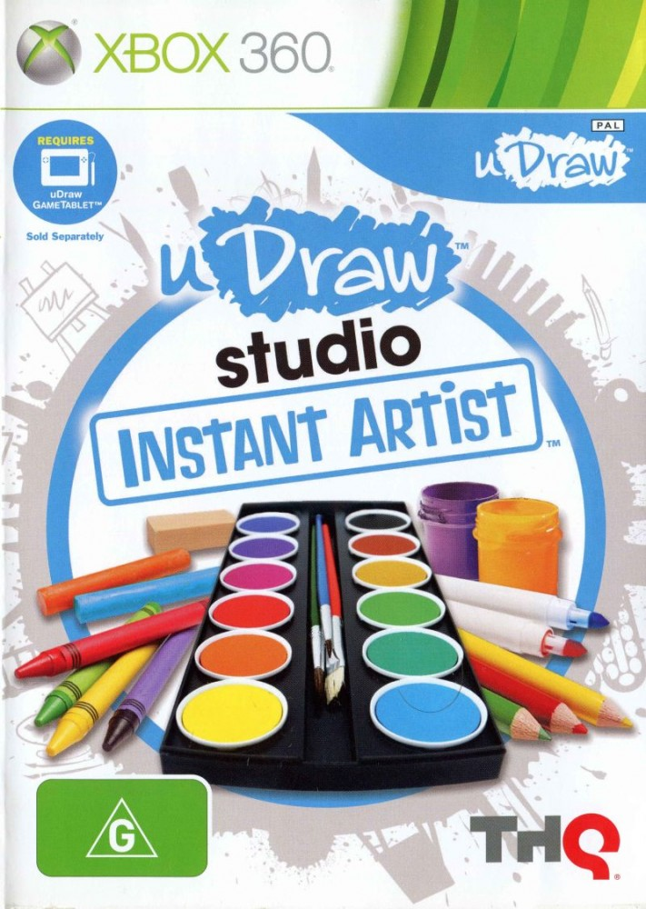 U DRAW STUDIO INSTANT ARTIST (HASZNÁLT)