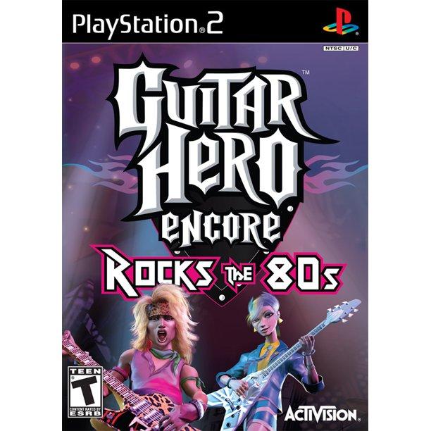 GUITAR HERO : ROCKS THE 80S (PS2, HASZNÁLT)
