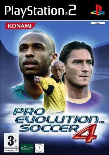 PRO EVOLUTION SOCCER 4 (PS2, HASZNÁLT)