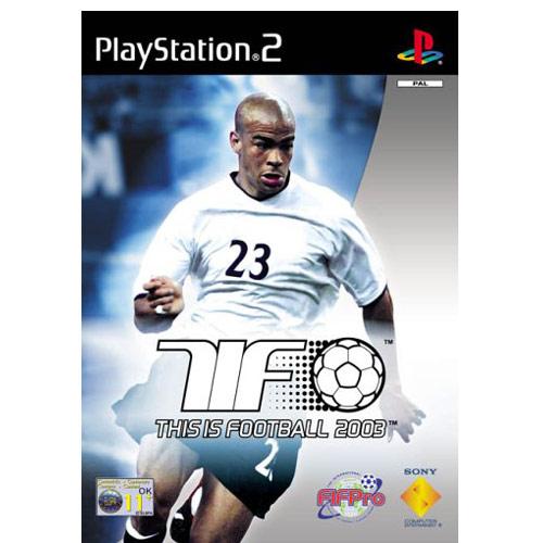 THIS IS FOOTBALL 2003 (PS2, HASZNÁLT)