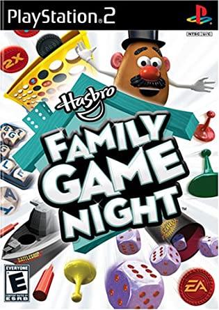 HASBRO-FAMILY-GAME-NIGHT-PS2-HASZNALT