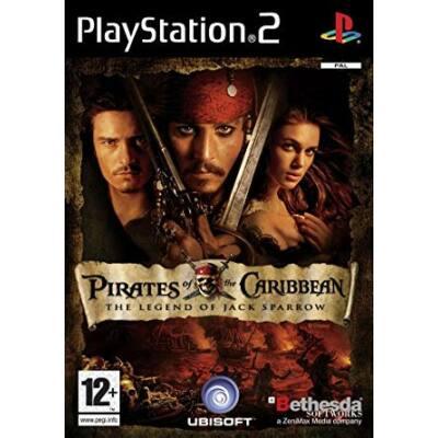 PIRATES OF THE CARIBBEAN THE LEGEND OF JACK SPARROW (PS2, HASZNÁLT)