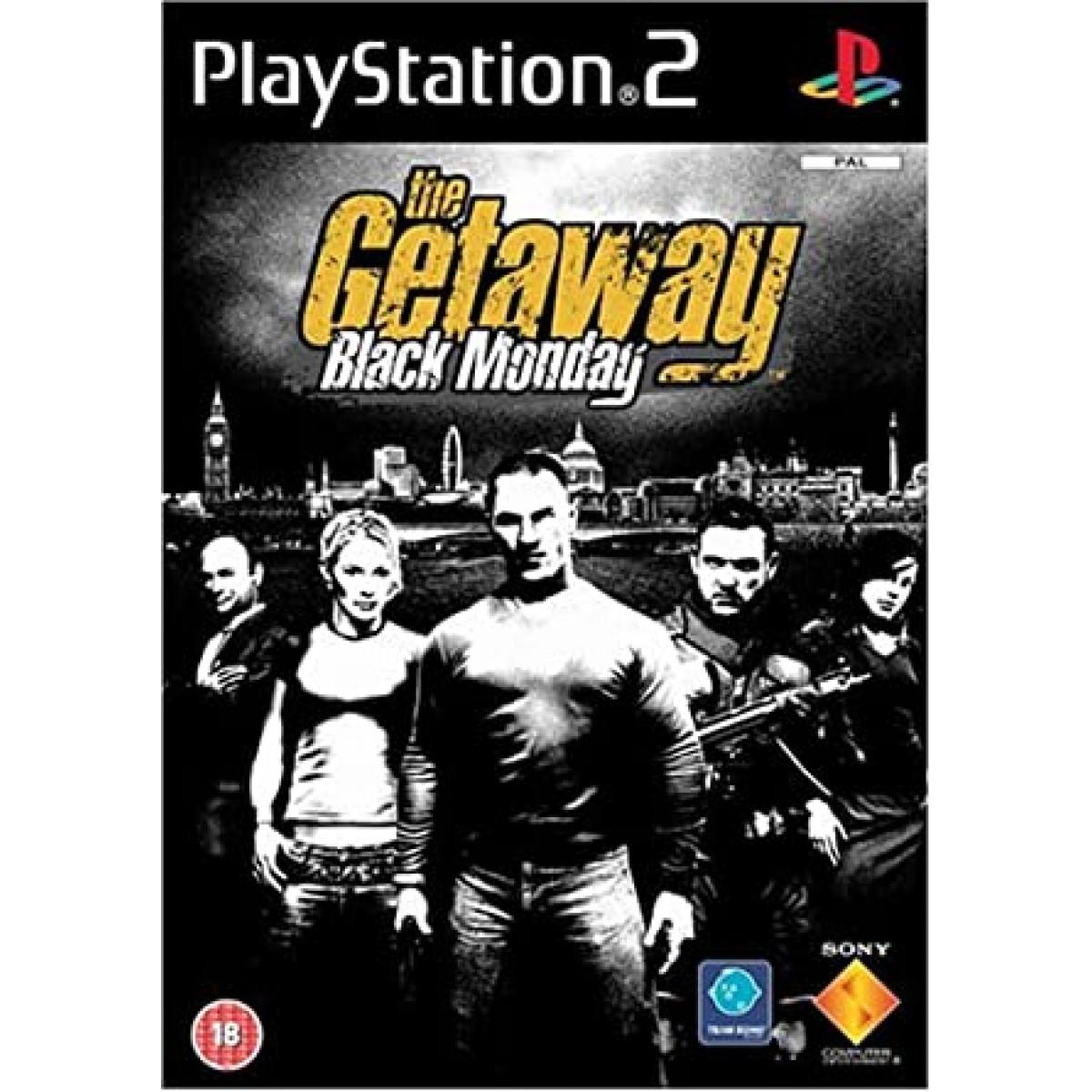THE GETAWAY : BLACK MONDAY (PS2, HASZNÁLT)