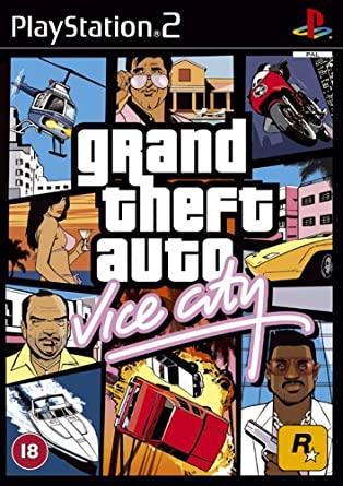 GRAND THEFT AUTO (GTA) VICE CITY (PS2, HASZNÁLT)