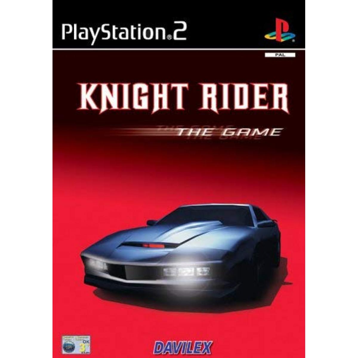 KNIGHT RIDER (PS2, HASZNÁLT)