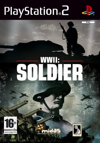 WWII--SOLDIER-PS2-HASZNALT