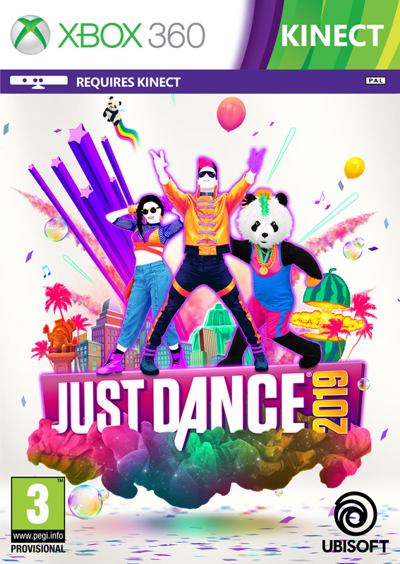KINECT JUST DANCE 2019 (HASZNÁLT)
