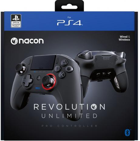 NACON REVOLUTION PRO UNLIMITED Playstation 4 VEZETÉK NÉLKÜLI KONTROLLER (használt)